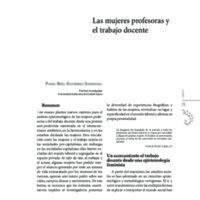 Las mujeres profesoras y el trabajo docente.pdf